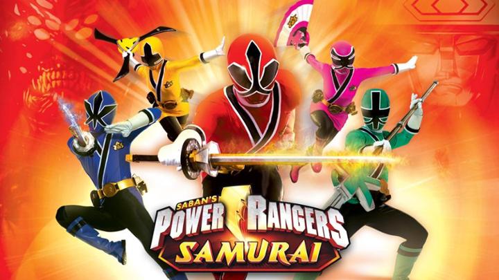 13:40 Spēka reindžeri samuraji