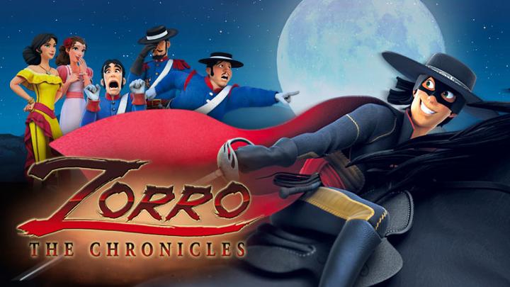 09:30 Zorro hronikas. Animācijas seriāls. 12. sērija.