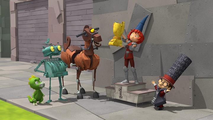 09:30 Bruņinieks Rūsiņš. Animācijas seriāls. 43., 44. sērija.