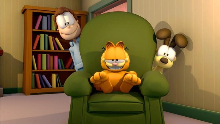 07:00 Gārfīlda šovs 2. Animācijas seriāls. 18., 19. sērija.