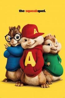 Alvins un burunduki 2: Turpīkstinājums
